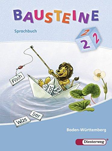 9783425142319: Bausteine Sprachbuch 2 Vereinfachte Ausgangsschrift. Baden-Württemberg: Ausgabe 2008