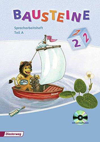 9783425142821: Bausteine 2. A und B. Spracharbeitsheft mit CD-ROM: Ausgabe 2008