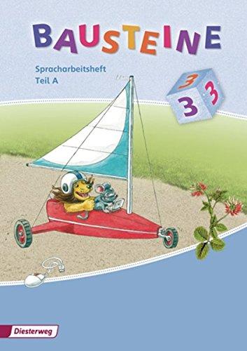 9783425143811: Bausteine Spracharbeitsheft 3. Teil A und B im Paket: Ausgabe 2008