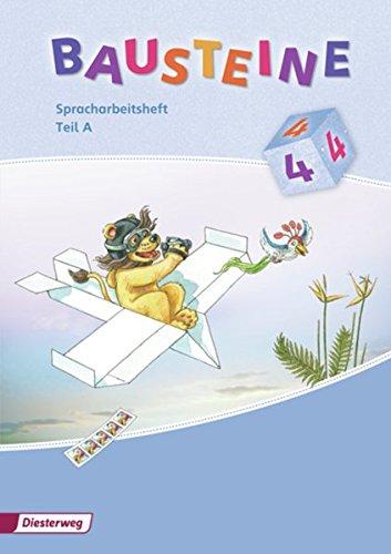 9783425144818: BAUSTEINE Spracharbeitsheft 4. Teil A und B im Paket: Ausgabe 2008