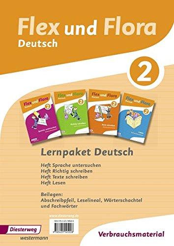 9783425145228: Flex und Flora 2. Paket Deutsch