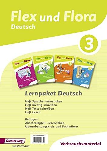9783425145327: Flex und Flora 3. Paket Deutsch