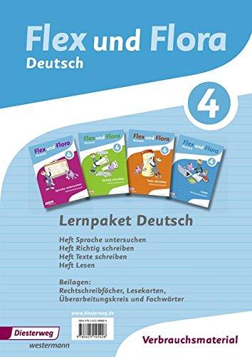 9783425145426: Flex und Flora 4. Paket Deutsch