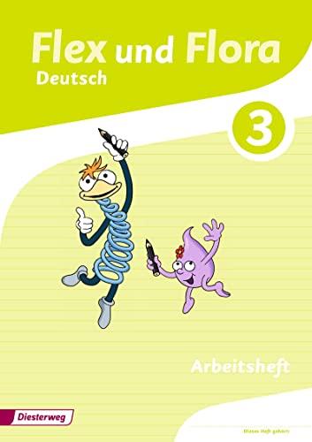 9783425145594: Flex und Flora 3. Arbeitsheft Deutsch: Für die Ausleihe