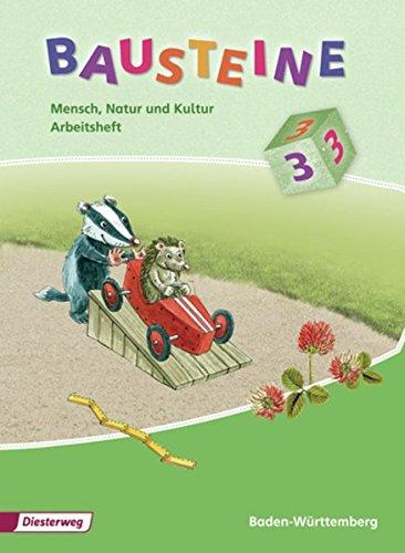 9783425153179: Bausteine 3. Mensch, Natur und Kultur. Arbeitsheft