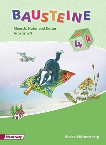 9783425154176: Bausteine Mensch, Natur und Kultur 4. Arbeitsheft