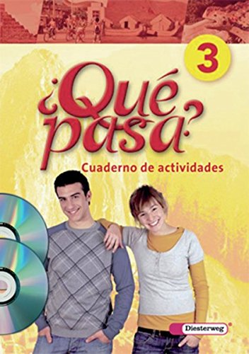 9783425160238: Qué pasa 3. Cuaderno de actividades mit Multimedia-Sprachtrainer CD-ROM und CD für Schüler