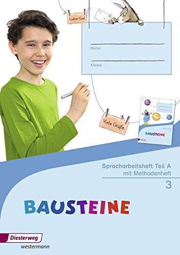 9783425163215: BAUSTEINE Spracharbeitshefte 3: Spracharbeitsheft - Ausgabe 2015