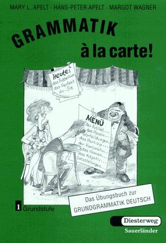 9783425259918: Grammatik a La Carte - Level 1: Ubungsbuch 1