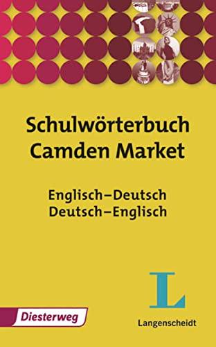 9783425710518: Schulwörterbuch Camden Market: Englisch - Deutsch, Deutsch - Englisch