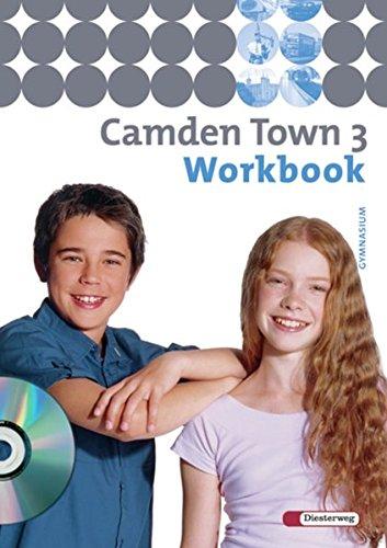 9783425725130: Camden Town 3. Workbook mit CD. Gymnasium: Baden-Württemberg, Berlin, Brandenburg, Bremen, Hamburg, Hessen, Mecklenburg-Vorpommern, Niedersachsen, ... Sachsen, Sachsen-Anhalt, Thüringen
