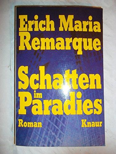 9783426003633: Schatten Im Paradies (German Edition)