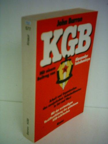 9783426005774: KGB. Arbeit und Organisation des sowjetischen Geheimdienstes in Ost und West