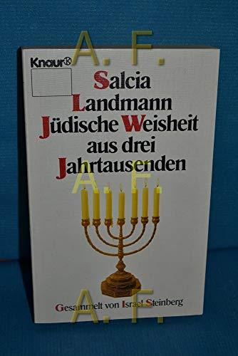 9783426013090: Jüdische Weisheiten aus drei Jahrtausenden.