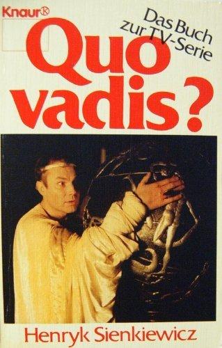 Quo vadis ? Das Buch zur TV: Sienkiewicz, Henryk: