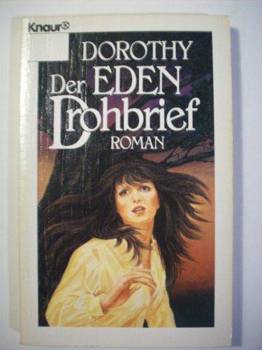 Der Drohbrief. (3426014459) by Eden, Dorothy