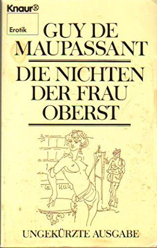 9783426025369: Die Nichten der Frau Oberst (Erotik) (German Edition)