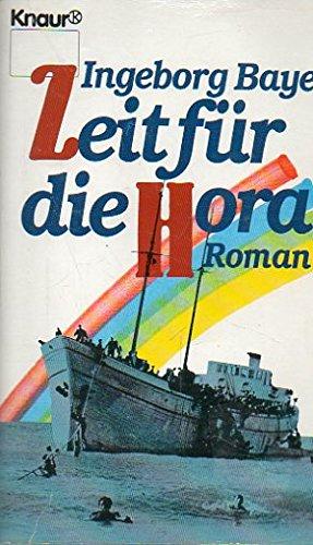 9783426031964: Zeit für die Hora. Roman.