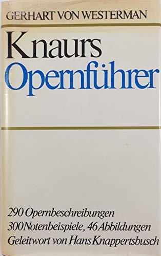 9783426033104: Knaurs Opernführer.
