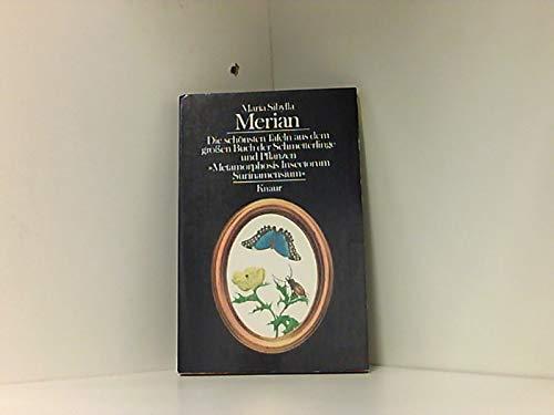 9783426036648: Merian - Die schönsten Tafeln aus dem großen Buch der Schmetterlinge und Pflanzen. [Broschiert]
