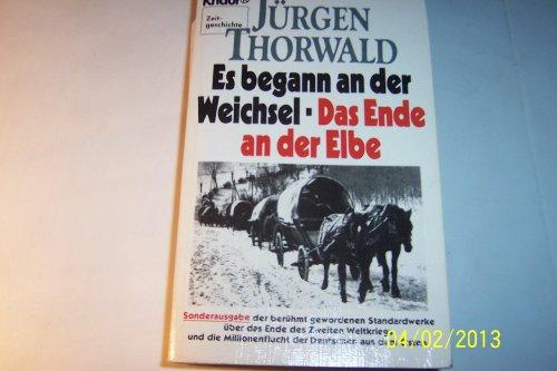 9783426038031: Es begann an der Weichsel. Das Ende an der Elbe