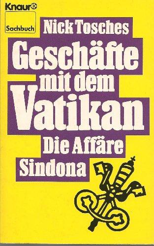 9783426039700: Geschaefte Mit Dem Vatikan Die Affaere S