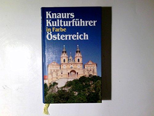 9783426045954: Knaurs Kulturfuhrer in Farbe, Osterreich