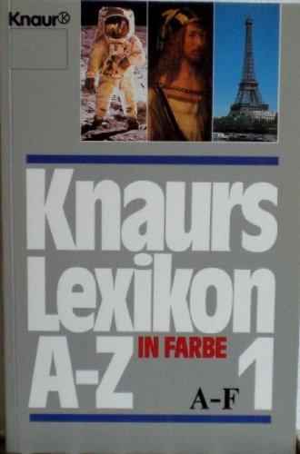 Knaurs Lexikon in Farbe A-Z - Das