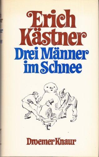 9783426190715: Drei Manner im Schnee