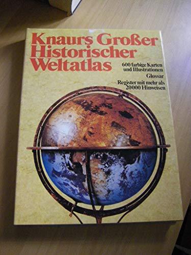 9783426260166: Knaurs Grosser Historischer Weltatlas