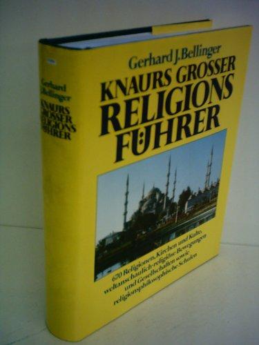 9783426262214: Knaurs grosser Religionsführer