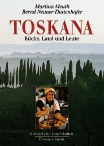 9783426262641: Toskana. Küche, Land und Leute.