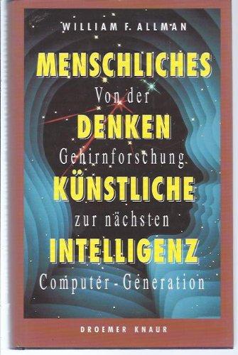 9783426263884: Menschliches Denken, Künstliche Intelligenz