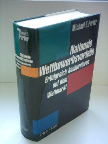 9783426264331: Nationale Wettbewerbsvorteile. Erfolgreich auf dem Weltmarkt.