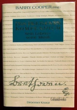 9783426265741: Das Beethoven Kompendium. Sein Leben, seine Musik