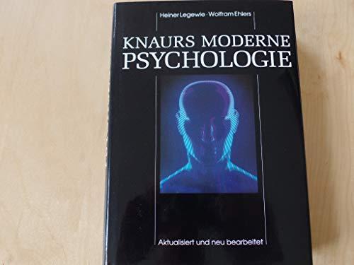 9783426266359: Knaurs moderne Psychologie