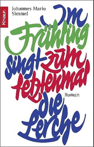 9783426600894: Im Fruhling Singt Zum Letzemmal (German Edition)