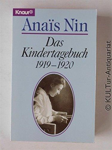9783426602041: Das Kindertagebuch 1919-1920