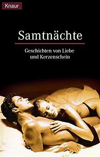 9783426618455: Samtnächte. Geschichten von Liebe und Kerzenschein.