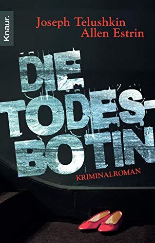 Die Todesbotin: Kriminalroman (3426634368) by Telushkin, Joseph