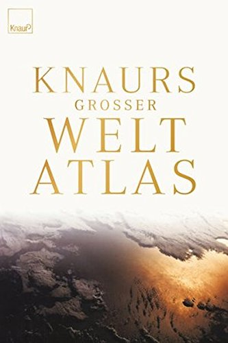 9783426641330: Knaurs Großer Weltatlas.
