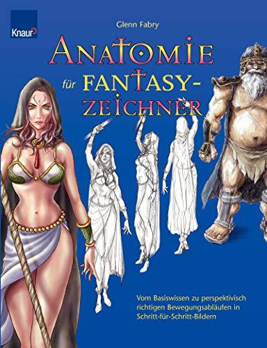Anatomie für Fantasy-Zeichner (3426641925) by Fabry, Glenn