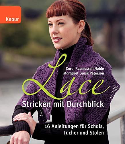 9783426647226: Lace - Stricken mit Durchblick: 20 Anleitungen für Schals, Tücher und Stolen