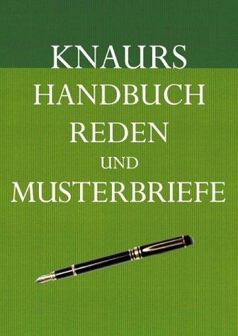 9783426664360: Knaurs Handbuch Reden und Musterbriefe, m. CD-ROM