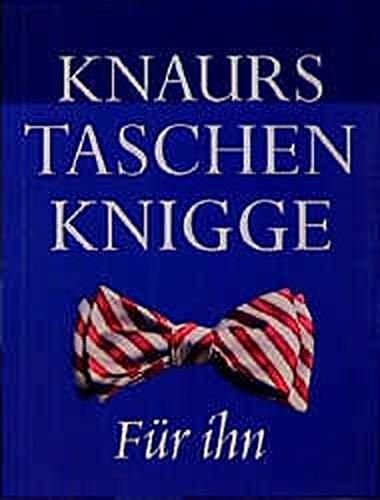 9783426664384: Knaurs Taschenknigge für ihn.