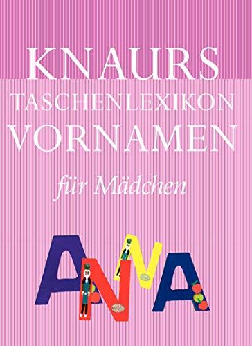 9783426664629: Knaurs Taschenlexikon Vornamen Mädchen