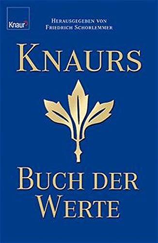 9783426664667: Knaurs Buch der Werte.