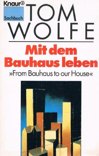 9783426770566: Mit dem Bauhaus leben -
