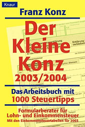 9783426777145: Der Kleine Konz 2003/2004
