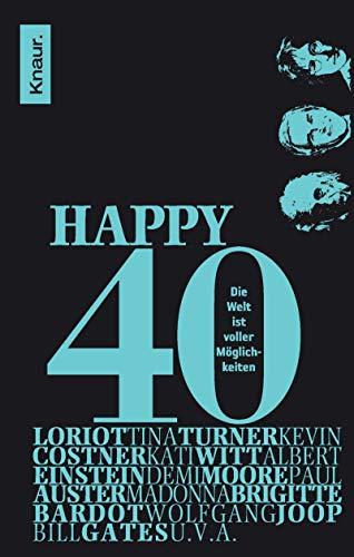 9783426782606: Happy 40